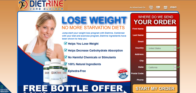 Dietrine Carb Blocker Reviews Free Bottle Offer On